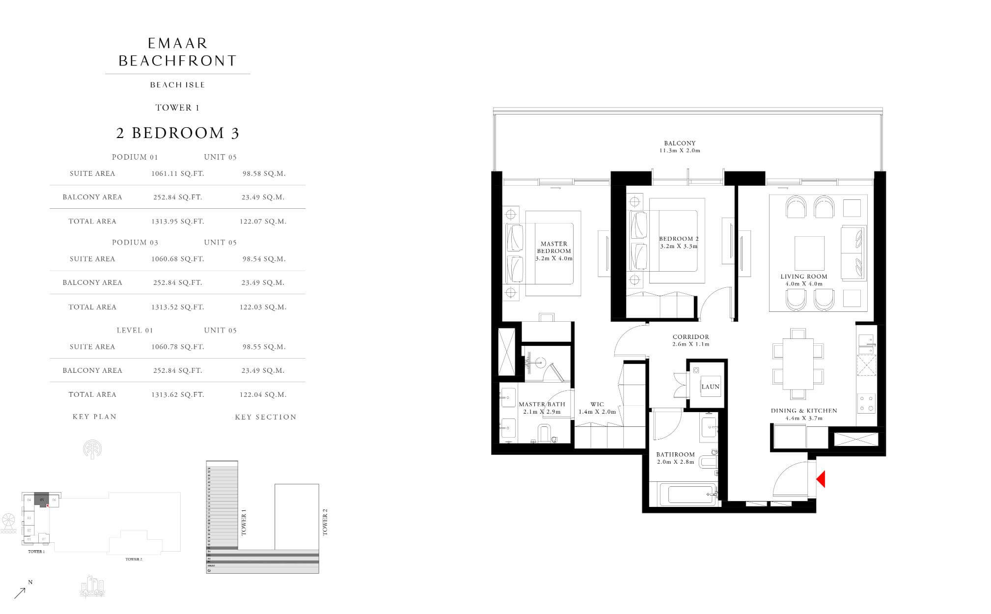 2BR TYPE 3 - TOWER 1