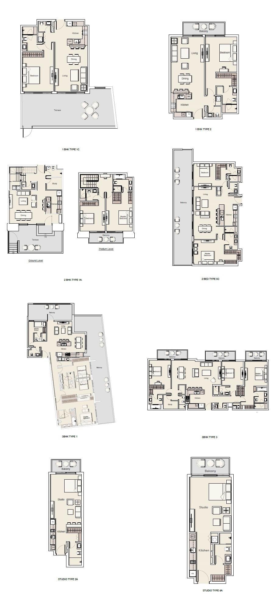 alll floor plan