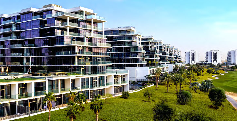 Golf Town Apartments at Damac Hills