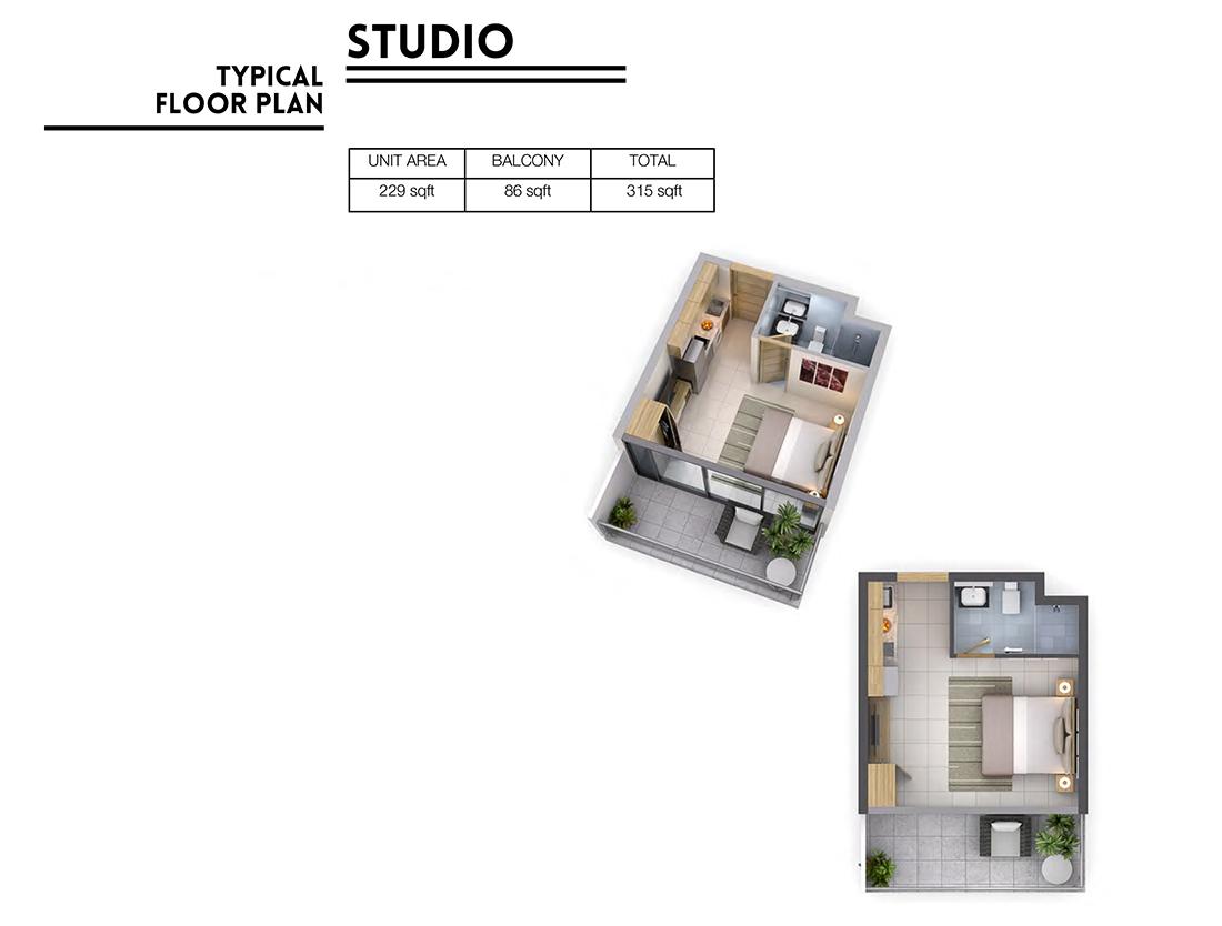 Vera Residences at Business Bay-Studio