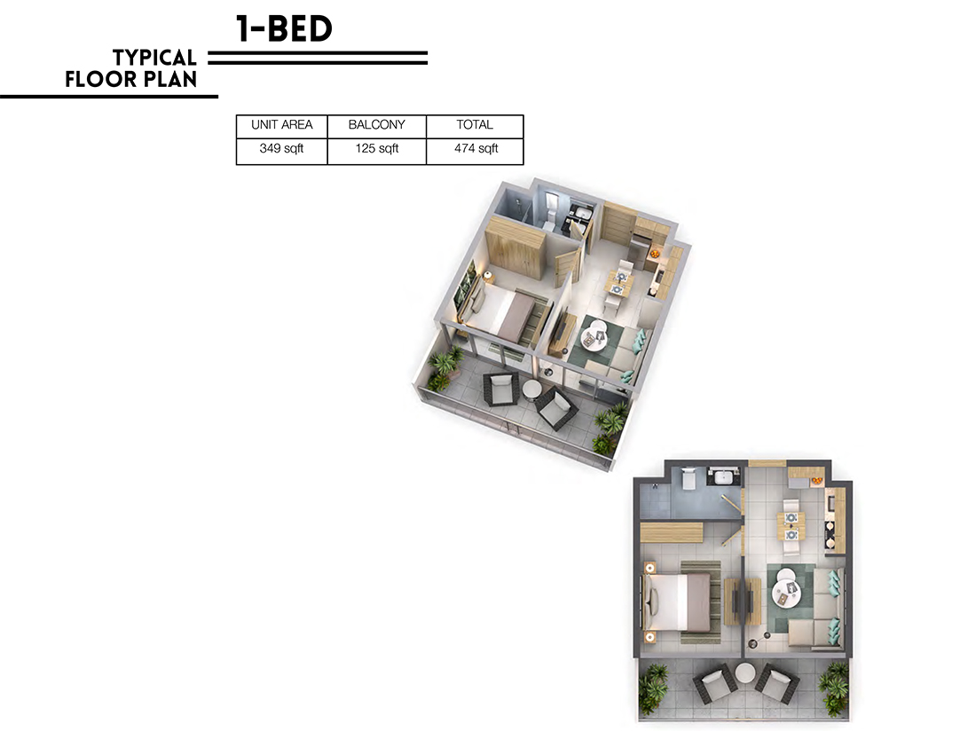 Vera Residences at Business Bay-1 Bedroom