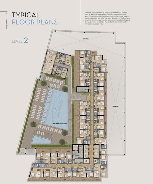 Typical Floor Plan, Level 2