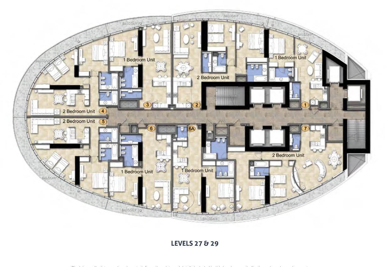 Damac Maison Distinctio - Floor Plan