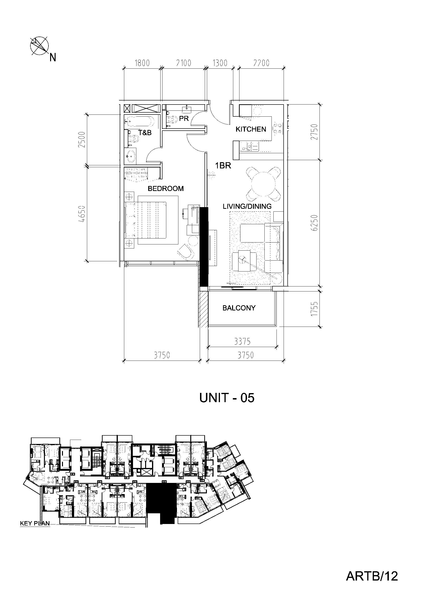 Artesia Apartments Floor Plan