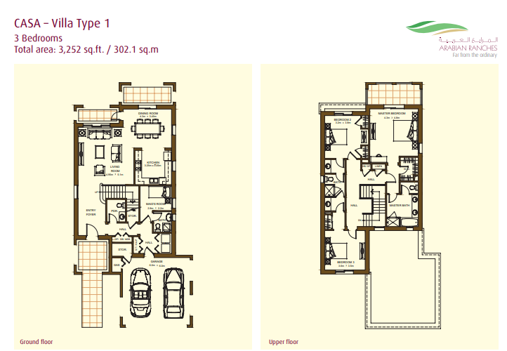 Casa Villas Floor Plan Type 1