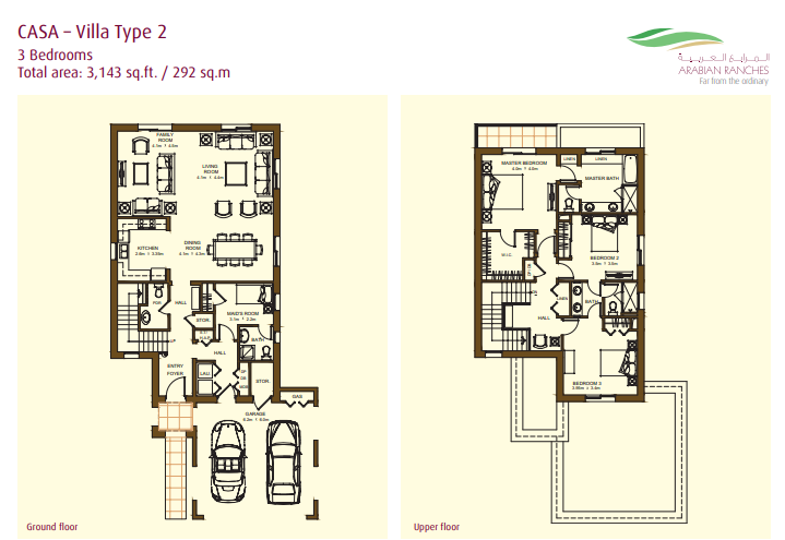 Casa Villas Floor Plan Type 2