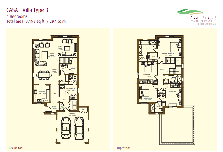 Casa Villas Floor Plan Type 3