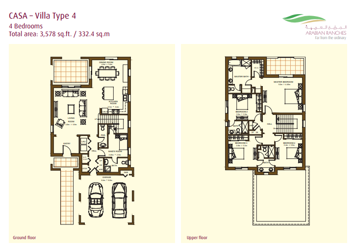 Casa Villas Floor Plan Type 4