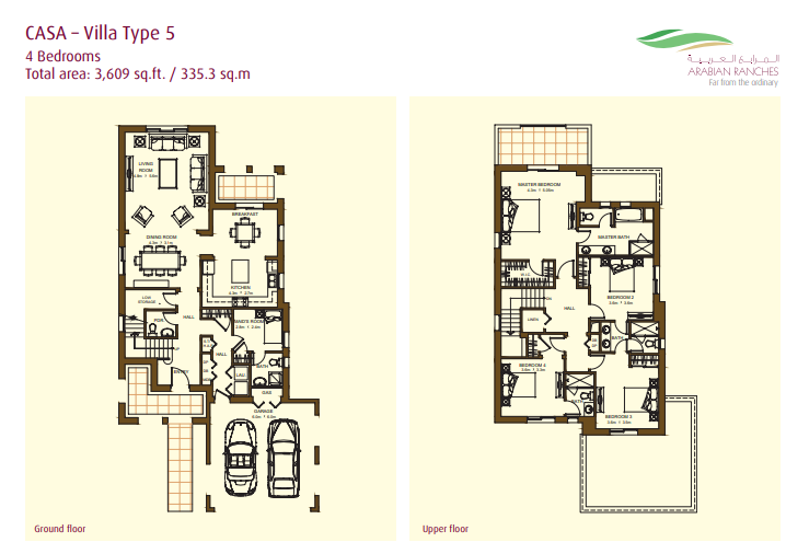 Casa Villas Floor Plan Type 5