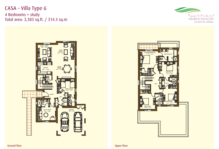 Casa Villas Floor Plan Type 6