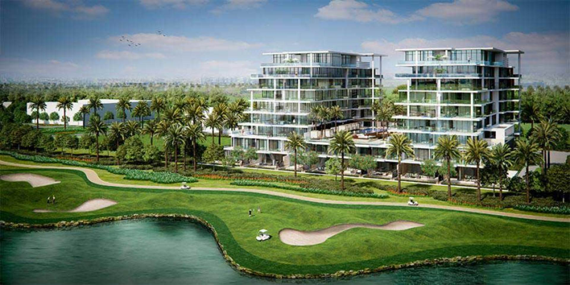 Golf Terrace at Damac Hills