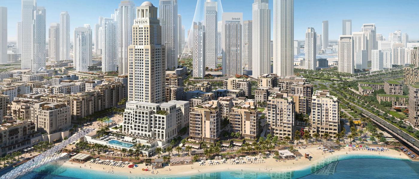 Vida Residences Creek Beach at Dubai Creek Harbour