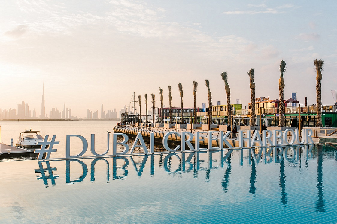 Dubai Creek Harbour Sign