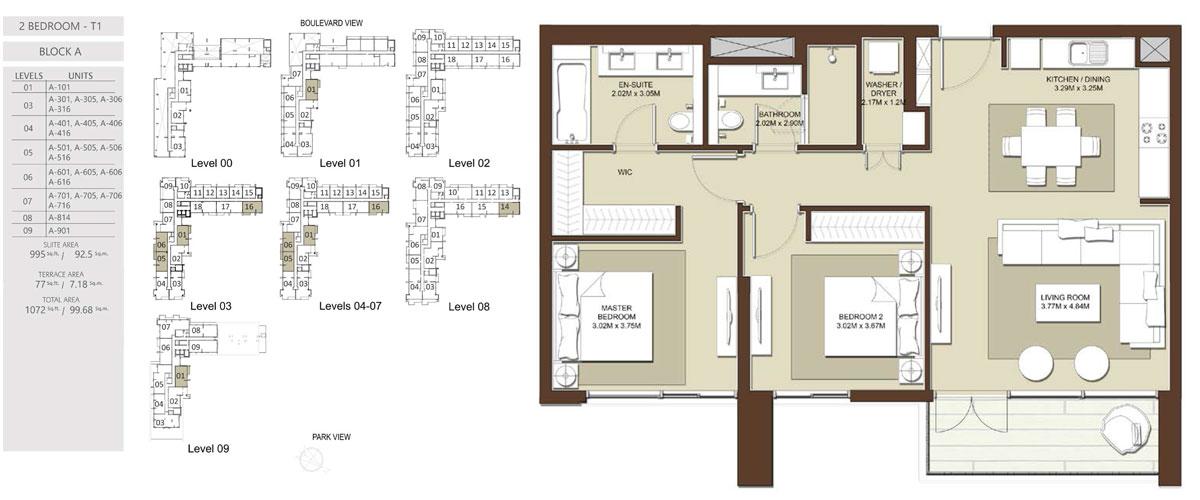 Acacia Apartments at Dubai Hills Estate