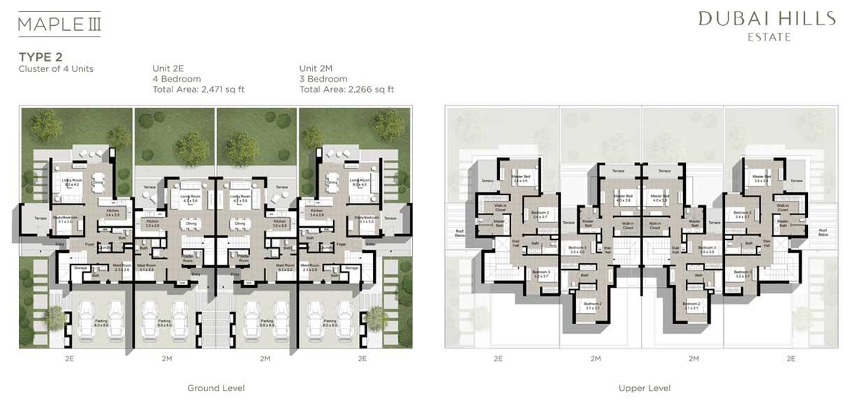 3 & 4 BEDROOM