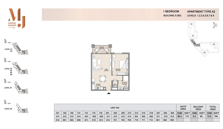 Building 3 1 Bedroom