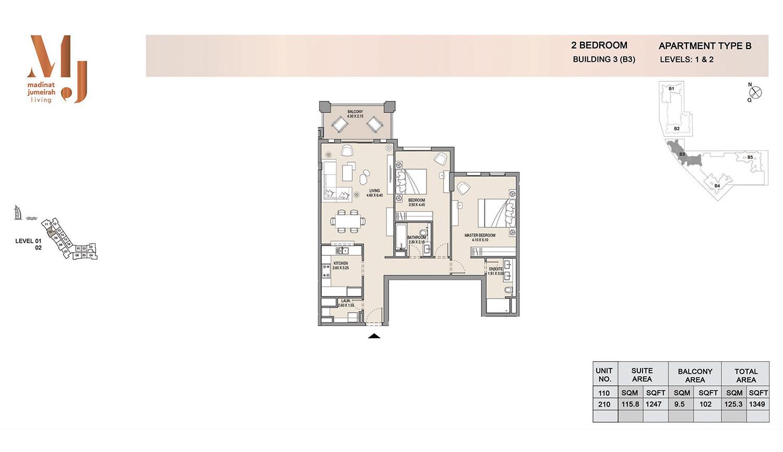 Building 3 2 Bedroom