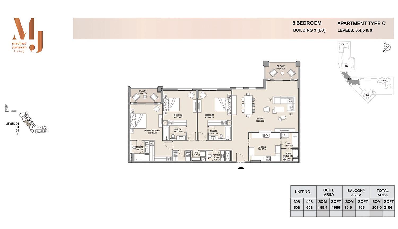 Building 3 3 Bedroom