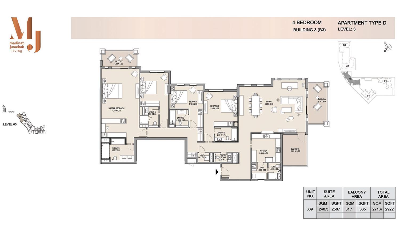 Building 3 4 Bedroom