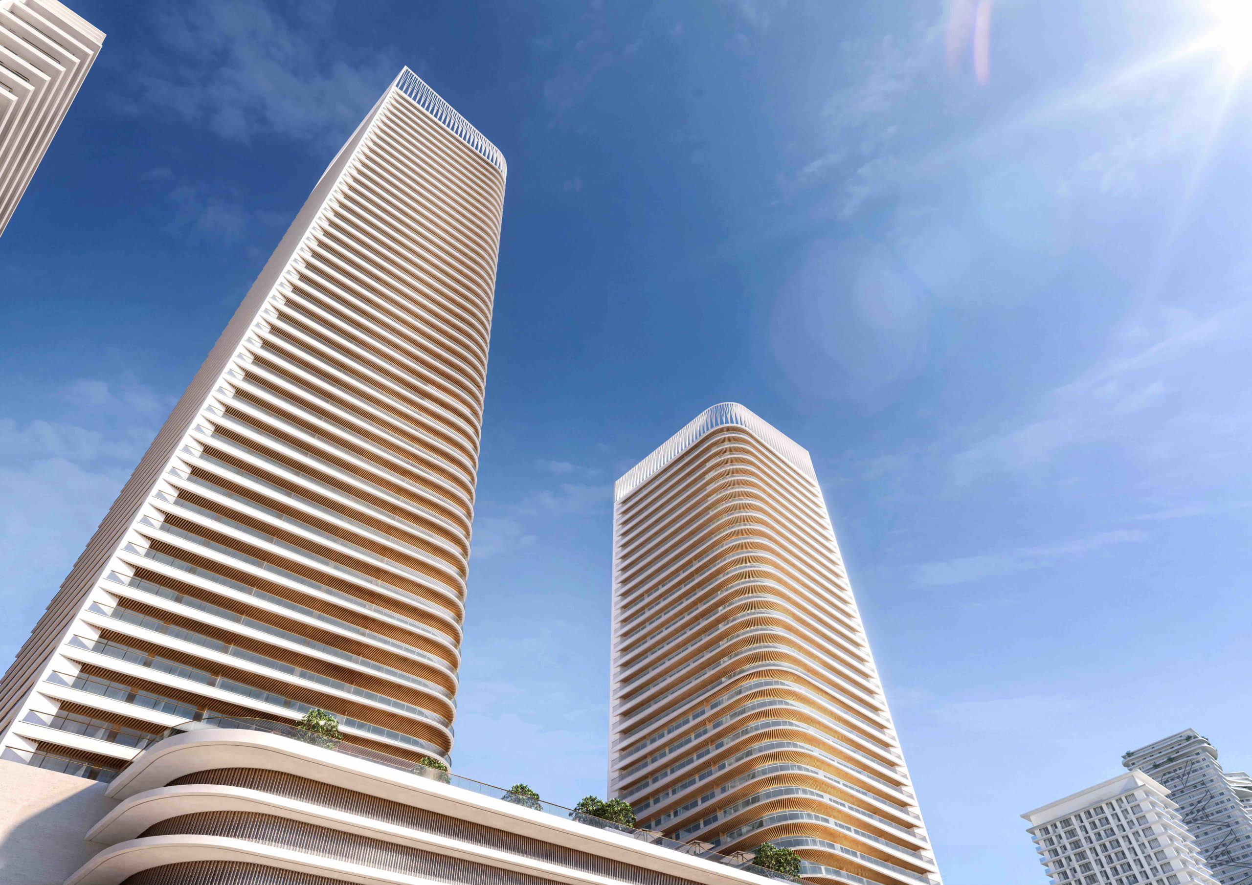 Grand Bleu Tower at Emaar Beachfront