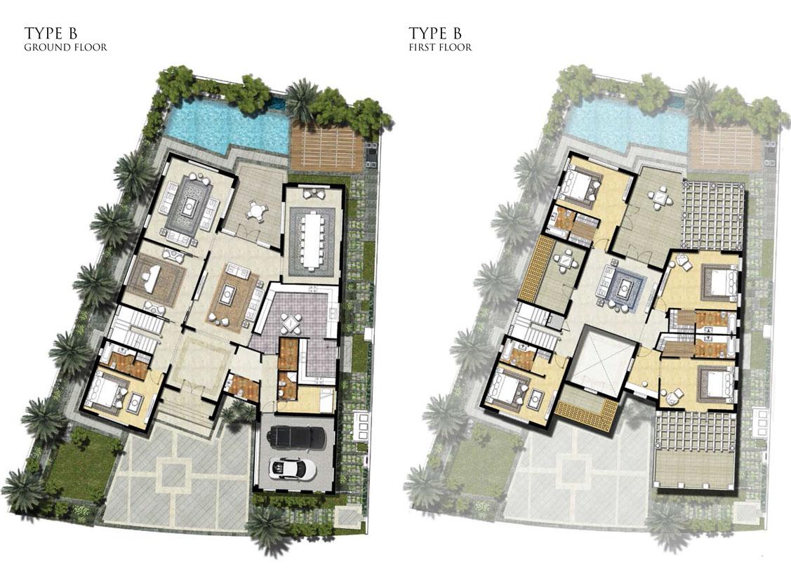 Villas Type B