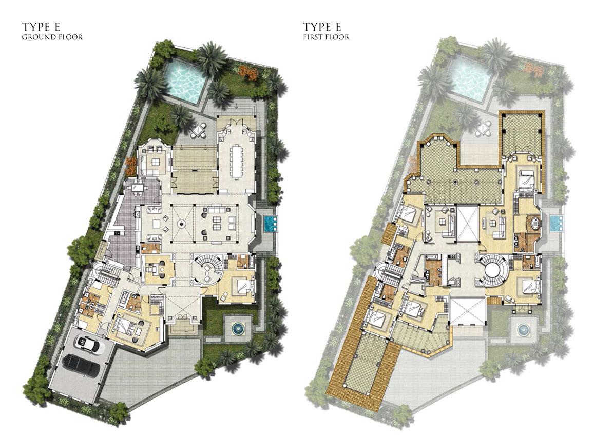 Villas Type E