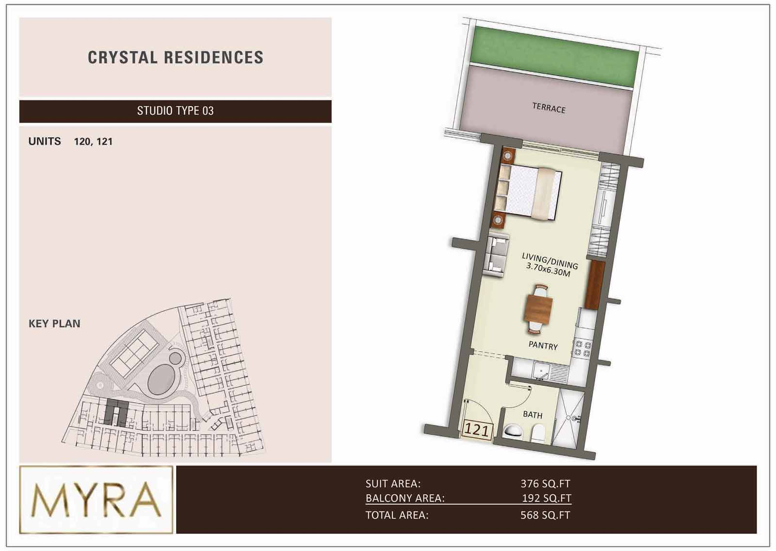 Crystal Residence Apartments