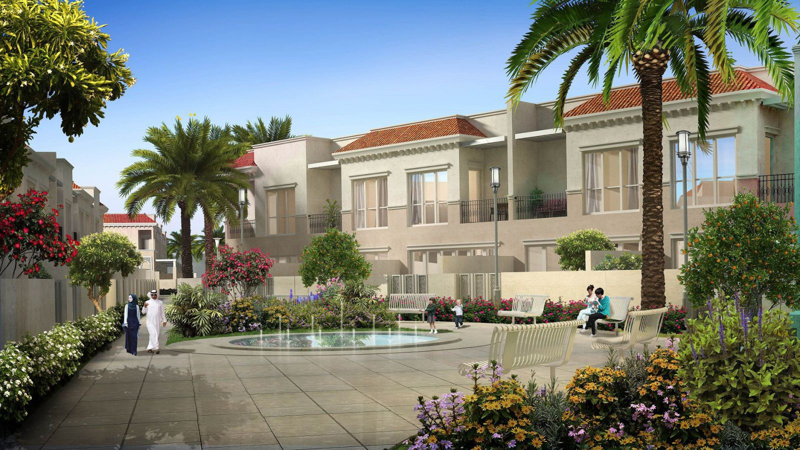 Alandalus Townhouses at Jumeirah Golf Estates