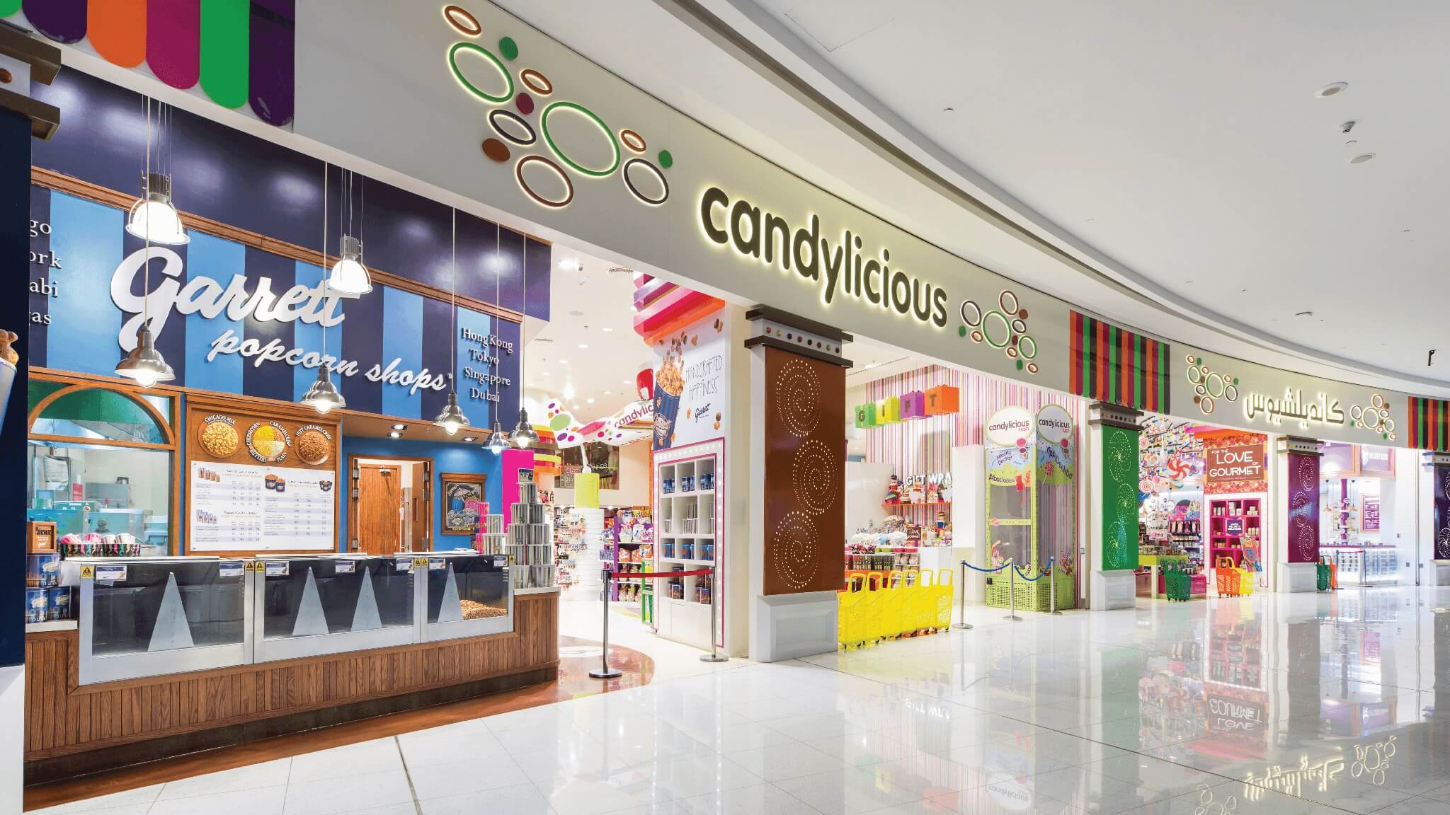 Candylicious Store at Dubai Shopping Mall