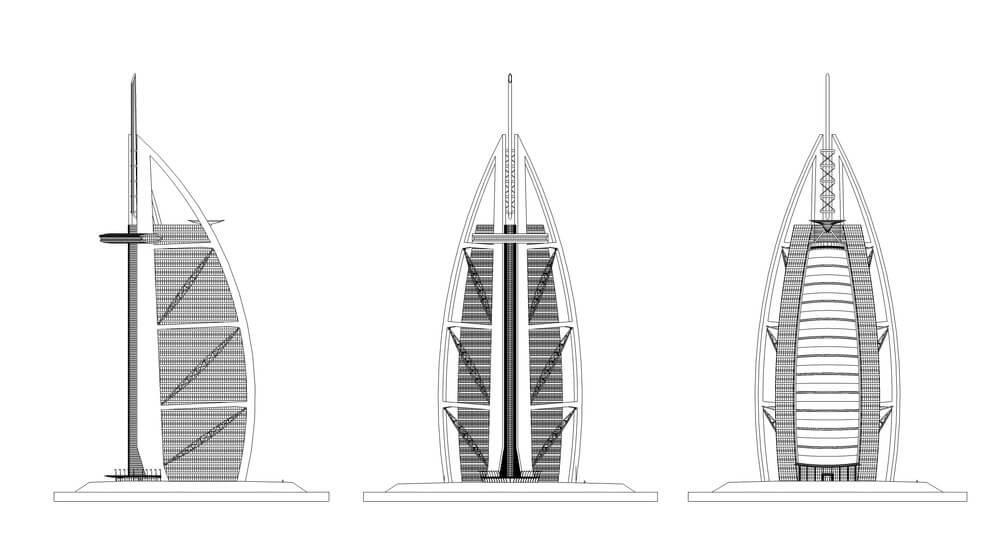 Design of Burj al Arab
