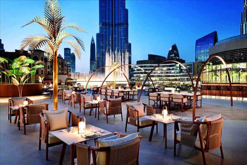 Restaurants near Burj Khalifa