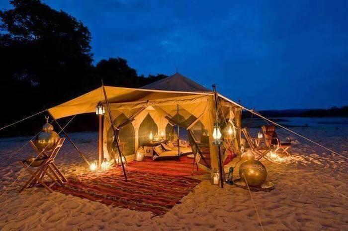 Desert camping in Dubai overnight