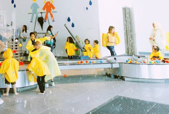 Children playing at OliOli Children's Museum