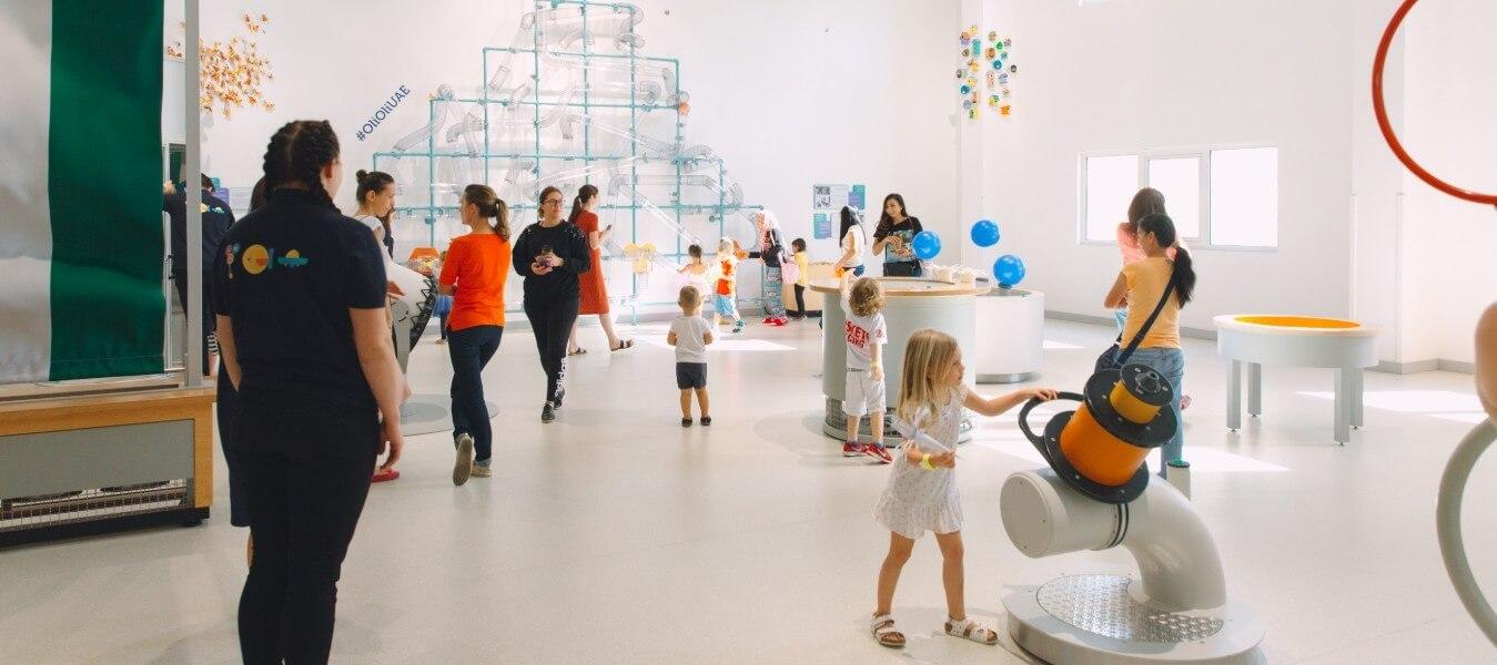 Creative Lab at OliOli Children's Museum