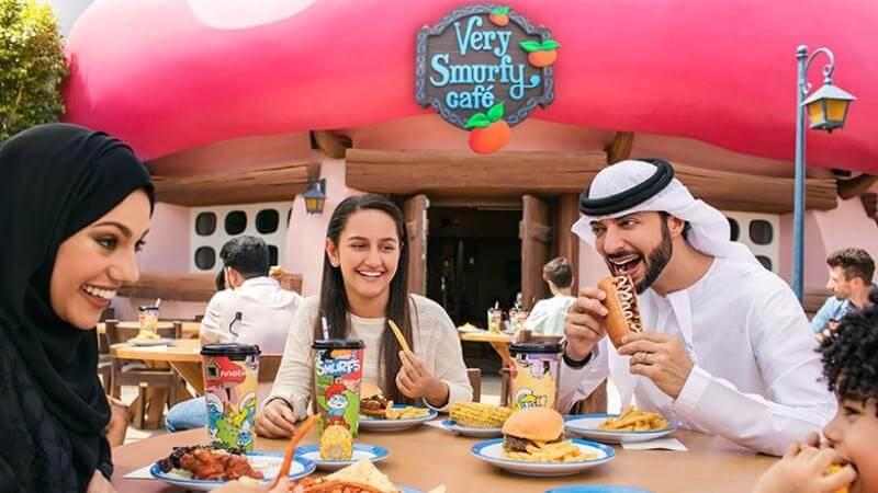 Restaurants at Motiongate Dubai