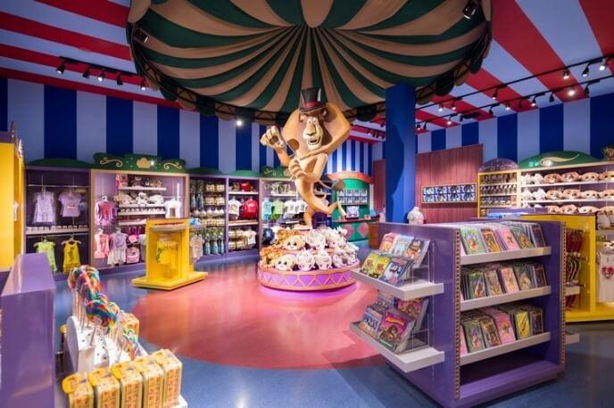 Retail outlets at Motiongate Dubai