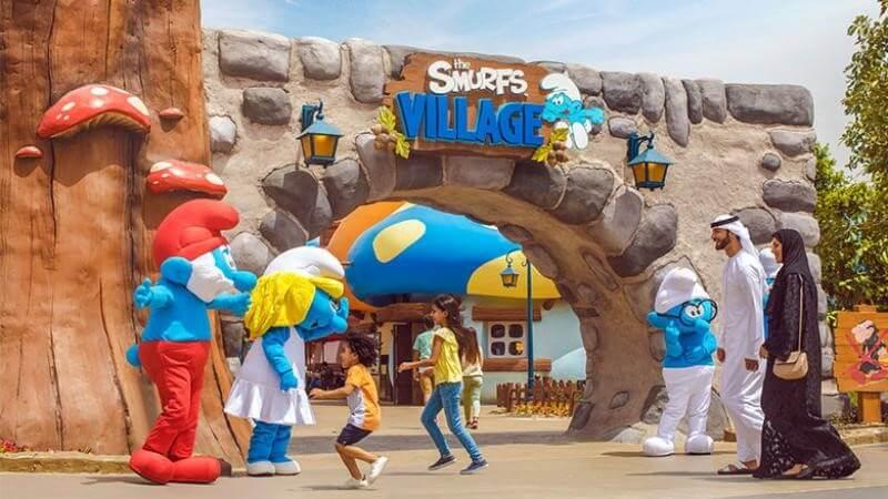 Smurfs Village at Motiongate Dubai