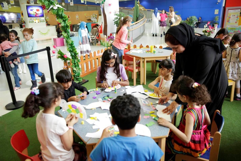 Students at Children's City Dubai