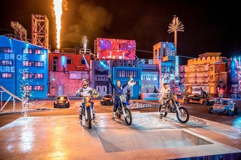 Stunt Show at Global Village Dubai