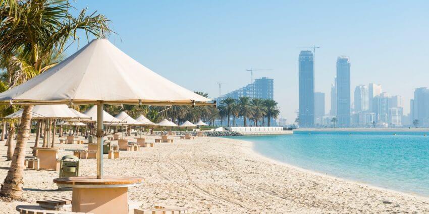 Outside View of Al Mamzar Beach Park Dubai